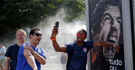 World Cup Tourists Take Selfies With Toothy Suarez Ad | Transmedia Storytelling for Business | Scoop.it