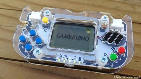 Gamebuino: an 8-bit 'maker movement' Arduino console for gamers and ... - Deutsche Welle | MakerSpace in the School Library Media Center | Scoop.it