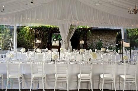 Outdoor Glam | Fabulous Weddings | Scoop.it