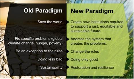 From one paradigm to the next | Biomimétisme-Economie Circulaire-Société | Scoop.it
