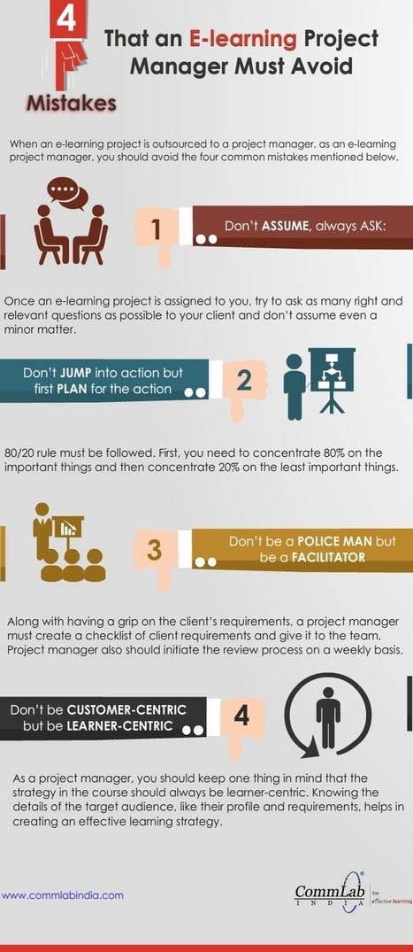4 Mistakes That Ruin Your E-learning Development Project [Infographic] | Café puntocom Leche | Scoop.it