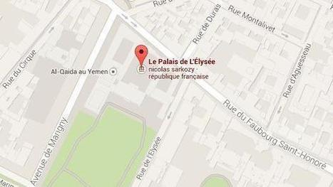 Comment Al-Qaïda au Yémen s'est retrouvé à côté de l'Elysée sur Google Maps   Entrepreneurs du Web   Scoop.it