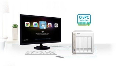 QNAP TS-45: High Performance NAS with On-the-fl