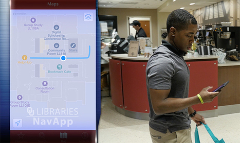 A Location-Aware App for Exploring the Library -- Campus Technology | Libraries and eLearning | Scoop.it