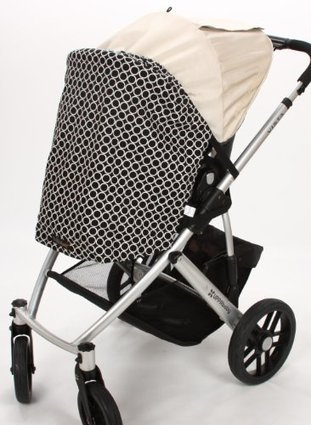 01ce43e385 Review this Buggy Shady - Universal Stroller and Infant Carrier Car Seat  Shade Cover with UV Sun Protection (Black Metro)
