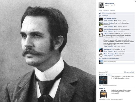 La page Facebook de Léon Vivien, poilu, né en 1885 - Rue89 | Managing Communities | Scoop.it