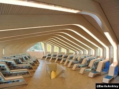 Le Courrier de l'Architecte | Bibliothèques d'avenir: ni OMA ni MVRDV mais Adjaye et Helen & Hard | Veille professionnelle sur les bibliothèques | Scoop.it