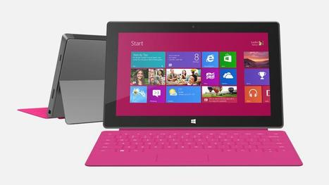 200 Million Workers Want Windows 8 Tablets, Not iPads | Microsoft | Scoop.it