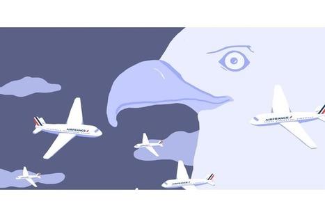 Les passagers d'Air France écoutés par les espions américains et britanniques | Libertés Numériques | Scoop.it
