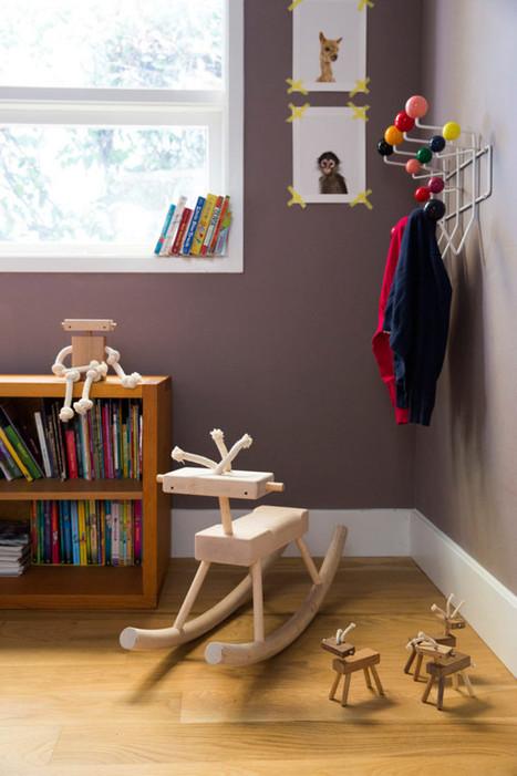 Fini les jouets en plastique, Monroe Workshop préfère bois massif et corde | inoow design lab | Scoop.it