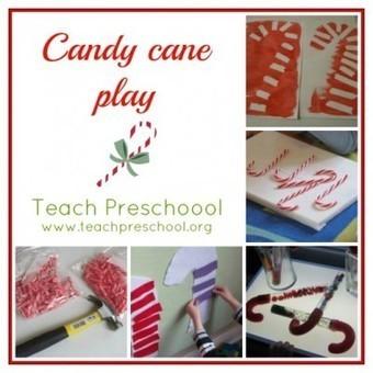 Candy cane play all around the clasroom | Teach Preschool | Teach Preschool | Scoop.it
