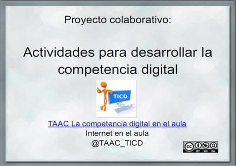 Casi 100 actividades para desarrollar la competencia digital en elaula. | El rincón de la convergencia | TIC JSL | Scoop.it