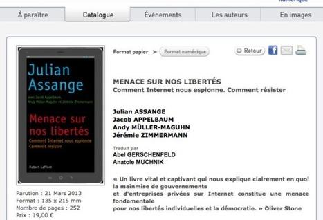 Julian Assange et la surveillance de masse | Pédagogies et théories critiques | Scoop.it