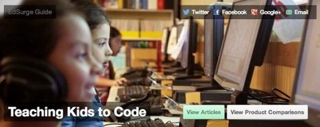 """Teaching Kids to Code"" Guide: A Fantastic Resource - GeekDad (blog) | School Leadership, Leadership, in General, Tools and Resources, Advice and humor | Scoop.it"