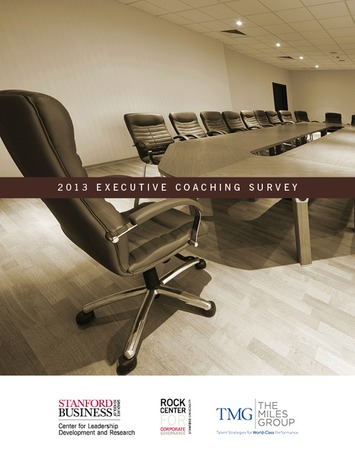 2013 Executive Coaching Survey | Stanford Graduate School of Business | Coaching Leaders | Scoop.it