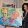 Maria Taveras Jungian Analyst, Painter and Sculptor of Dream Art.