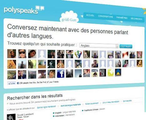 réseaux sociaux pour apprendre les langues   Langues en ligne   Scoop.it