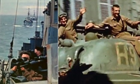 Rrare color footage filmed by director shows WW2's final days | British Genealogy | Scoop.it