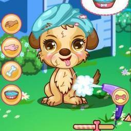 Dora Cute Puppy Caring Myfrogio Have Game