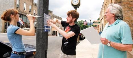 Guerrilla Wayfinding Toolkit to Create More Walkable Cities | Sisu Bento Box | Scoop.it