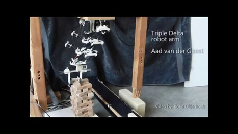 ▶ Tripledelta: a possible new technology for 3d print?   e-merging Knowledge   Scoop.it