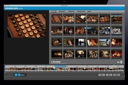 Quels logiciels utiliser pour réaliser un diaporama sonore ? | Documentaires - Webdoc - Outils & création | Scoop.it