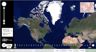 New- Google Timelapse Allows You to Visually Track The Earth's Changes over The Last 3 Decades via @medkh9   Teaching, Learning, and Leadership   Scoop.it