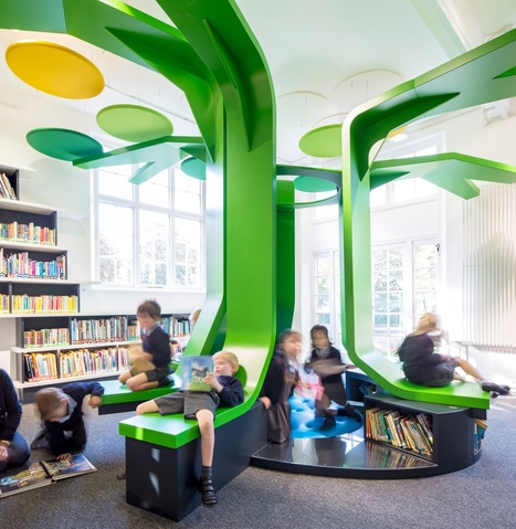 Inspirational school libraries from around the world – gallery | Transliteracy & eLearning | Scoop.it