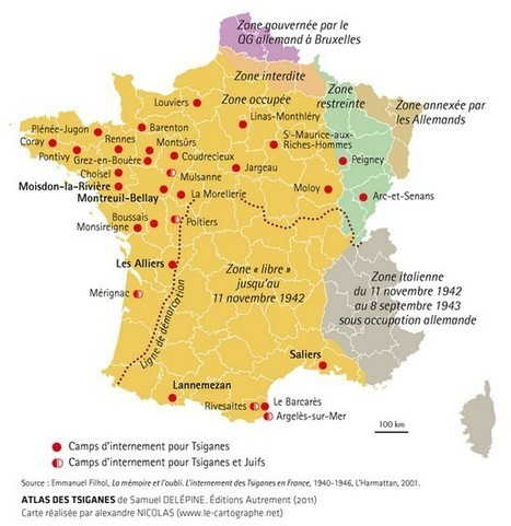 L'internement des Tsiganes en France (1940-1946) | Des liens en Hist-Géo | Scoop.it