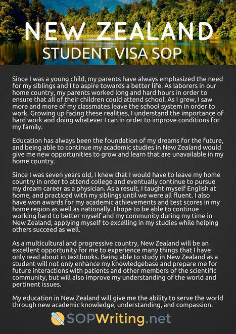 Sample Sop for Canada Student Visa | SoP Writin