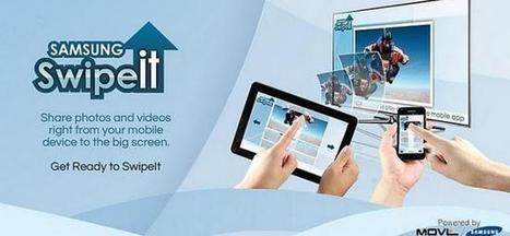 Swipe It, compartiendo contenidos desde nuestro móvil o tablet al Smart TV   Recull diari   Scoop.it