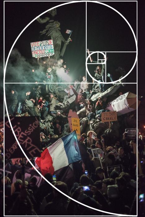 """""""Charlie Hebdo"""" : """"Le crayon guidant le peuple"""", décryptage d'une photo culte   enseignement en primaire   Scoop.it"""
