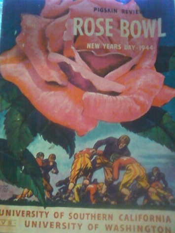 Football Program * * ROSE BOWL * NEW YEARS DAY 1944 * * Pigskin Review   Antiques & Vintage Collectibles   Scoop.it