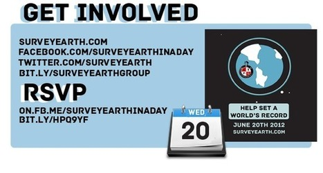 About - Survey Earth in a Day™ Remeasuring Earth as a Community 6-20-12   Survey Earth in a Day   Scoop.it