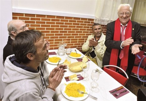 In Madrid, the homeless dine out... for free | This Gives Me Hope | Scoop.it