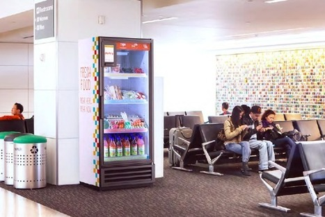 With $1.3 Million In Funding, Pantry's Smart Fridge Lets Businesses Sell Fresh Food Anytime | TechCrunch | Vertical Farm - Food Factory | Scoop.it