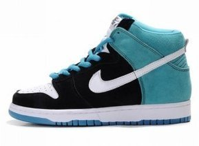 outlet store 151c3 e200e Nike Dunk High Premium Mens black blue white shoes Dunks High - 78.80   Brand Shoes For Sale On Sneakerb.com