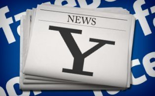 """Yahoo Hooks Up With Facebook for Socially Curated News 