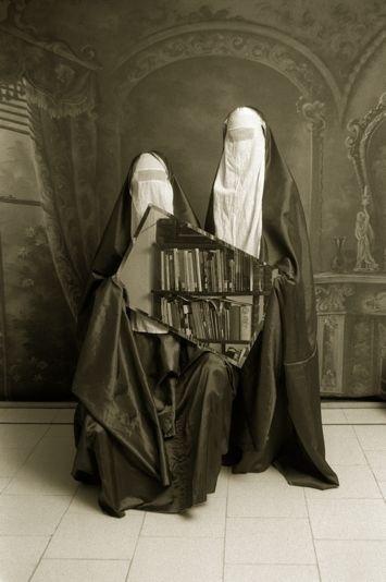 Qajar | Photographer: Shadi Ghadirian | BLACK AND WHITE | Scoop.it