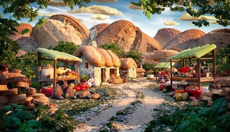 15 Surreal Landscapes Made from Food   AP Human Geography   Scoop.it
