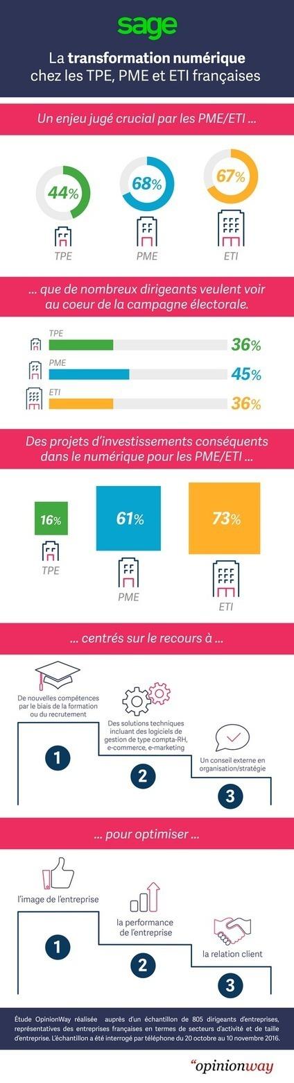Transformation numérique : le dynamisme des entreprises françaises | Le tourisme pour les pros | Scoop.it