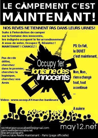 Proposition de tract   #marchedesbanlieues -> #occupynnocents   Scoop.it