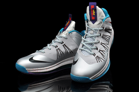 e84d5f415823 Nike Lebron 10 Low Hornets Silver Teal  in Fashion world!
