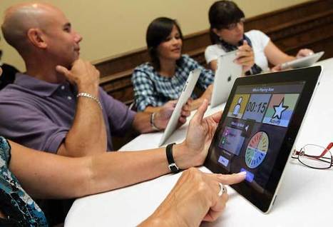 Teachers get lessons in going high-tech | The iPad Classroom | Scoop.it