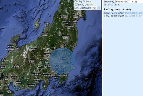 Japon: Séisme de magnitude 5,5 dans la région de Tokyo   20minutes.fr   Japon : séisme, tsunami & conséquences   Scoop.it