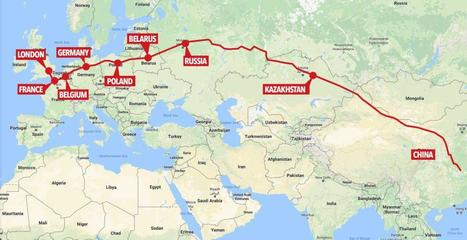 China sends first freight train to London | Geography Education | Scoop.it