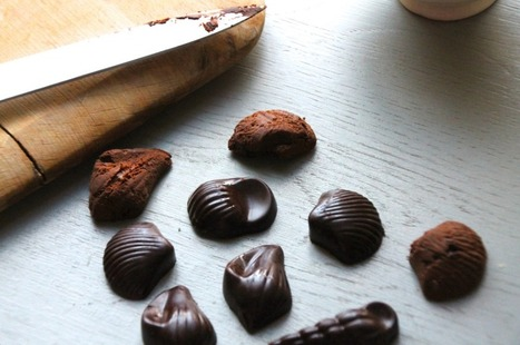 Raw Chocolate Truffles | Hip & Healthy | Everything Chocolate | Scoop.it