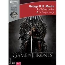 Le Trône de fer (Tome 2) - Le Donjon rouge en livre audio sur Book d'Oreille | Livres Audio | Scoop.it