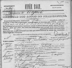 Châteauneuf et Jumilhac: Jean FRÉMEAU aurait pu épouser une autre femme | Rhit Genealogie | Scoop.it