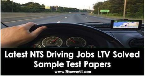 All NTS Jobs Driving Test Question Answer LTV S